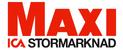 Logotyp ICA Maxi - Matbutiker